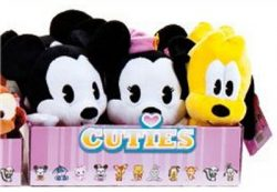 DISNEY CUTIES LGE PLUSH MICKEY & FRIENDS