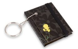 TWEETY NOTEBOOK KEYRING