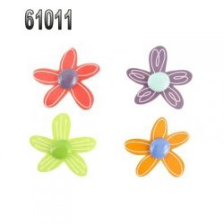 61011 FLOWERS MAGNET