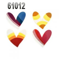 61012 HEARTS MAGNET