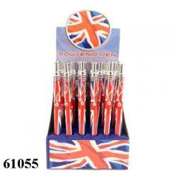 Union Jack Pen Wavy Clip