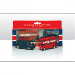 BUS & TAXI SET WAS 16098
