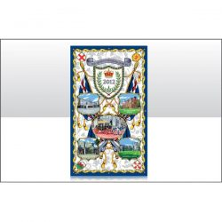 DIAMOND JUBILEE ROYAL PALACES TEATOWEL