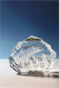 LP7984 CRYSTAL ART PLAQUE