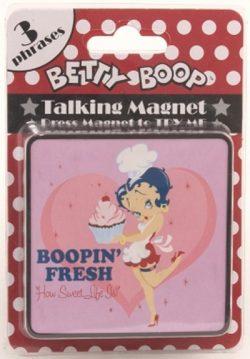 BETTY BOOP FRESH TALKING MAGNET