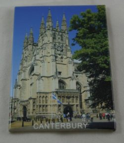 CANTERBURY PICTURE TIN MAGNET