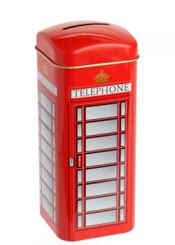 TELEPHONE BOX BANK-20 TEABAGS