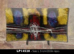 LP14528 AZTEC GLASSWARE