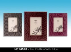 LP14558 LEATHERETTE FRAME