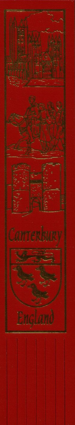 CANTERBURY BOOKMARK