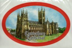 CANTERBURY DIE CUT STICKER