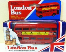 MEDIUM DIECAST BUS
