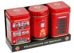TRADITIONS OF BRITAIN TRIPLE TEA PACK