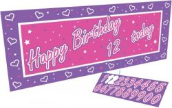 PC299616 GIANT BANNER PINK