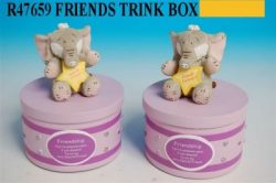 HATTIE FRIENDS TRINKET BOX