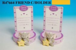 HATTIE FRIENDS CANDLEHOLDER