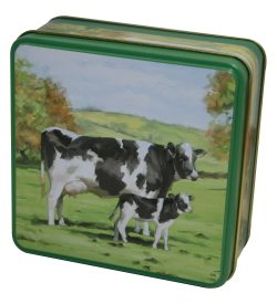 COUNTRY TIN SHORTBREAD 100g COWS