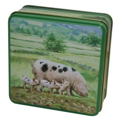 COUNTRY TIN SHORTBREAD 100g PIGS