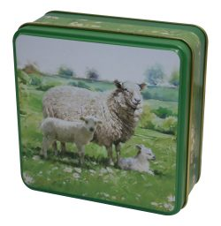 COUNTRY TIN SHORTBREAD 100g SHEEP