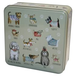 DOGS IN JUMPERS TIN 160g ASSTD BISCUITS