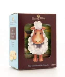 MINI CHOC CHIP 3D SHEEP BOX 150g