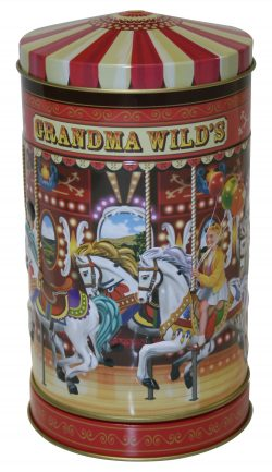 MUSICAL CAROUSEL TIN 150g SHORTBREAD