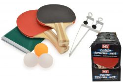 M.Y 2-PLAYER TABLE TENNIS SET/ZIP BAG IN DISPLAY BOX
