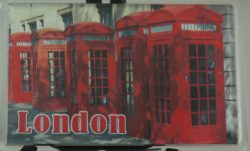 ACRYLIC LONDON SCENES MAGNET