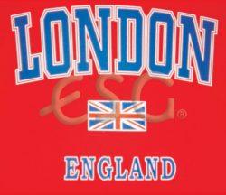 RED LONDON T-SHIRT – XL