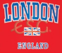 RED LONDON T-SHIRT – LARGE