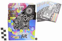 11″ x 15″ COLOUR FELT SET IN DISPLAY BOX