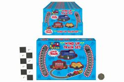 WIND UP PLASTIC TRAIN SET