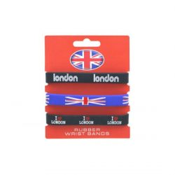 LONDON SET OF 3 WRISTBANDS