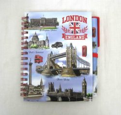 LONDON SCENES NOTEBOOK