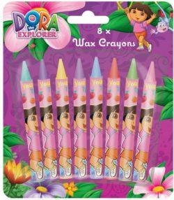 Dora 8pk Chunky Crayons