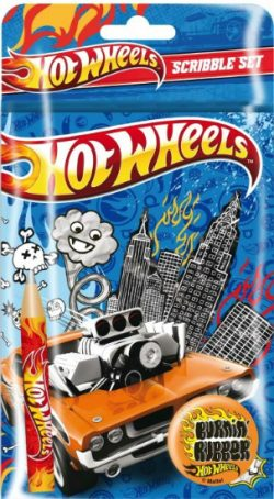 Hotwheels Scribble Set