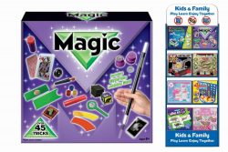 45 TRICKS MAGIC SET IN PRINTED BOX
