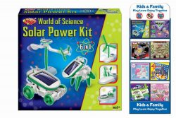 "6 in 1 SOLAR POWER KIT – ""WORLD OF SCIENCE"""