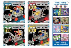 METAL KITS – 4 ASSORTED IN PRINTED BOX