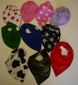 ASSORTED BANDANA BIBS