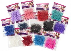 LOOM BANDS – 12 ASSTD COLOURS – 300
