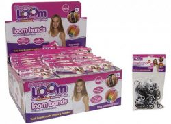 LOOM BANDS BLACK & WHITE – 300
