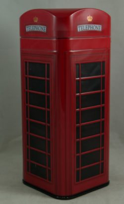 TELEPHONE BOX TIN