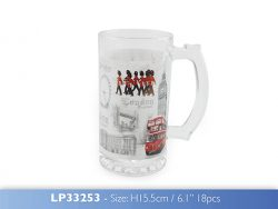 DISC LONDON GLASS TANKARD