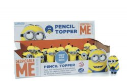 DM2 3D MINION PENCIL TOPPERS CDU
