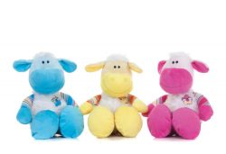 3 ASSTD 10″ NURSERY SITTING SHEEP