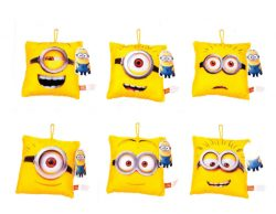 15 X 15cm MINION STICK ON CUSHION 6 ASSORTED