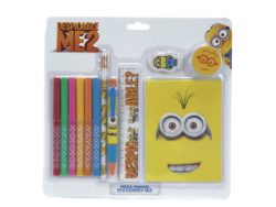 DESPICABLE ME MINION STATIONERY SET