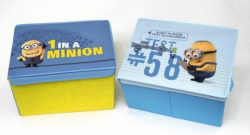 DESPICABLE ME STORAGE BOXES
