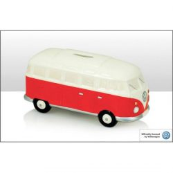 VW RED/WHITE MONEYBOX